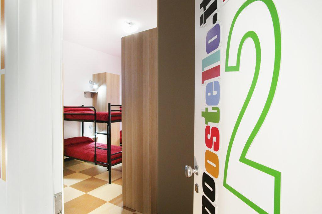 Milano Ostello – La Camera2 è per sei persone