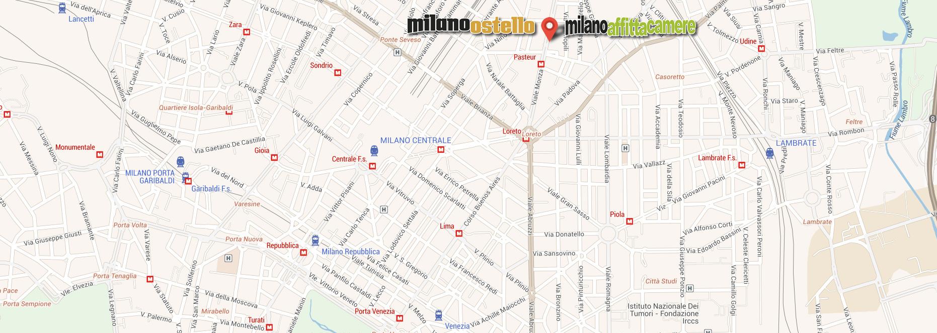 Milano Ostello - Viale Monza 38 - Milano