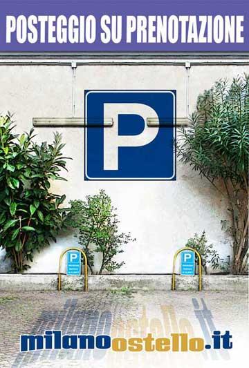 Milano Ostello - Parcheggio Privato